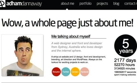 wordpress blog pages