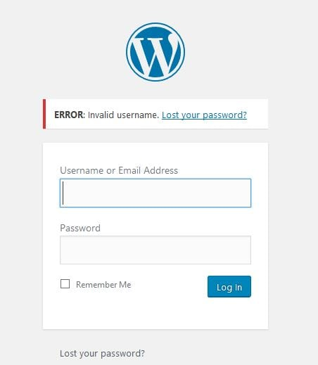 hacked wordpress site