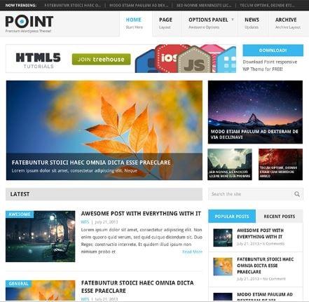 WordPress Blog Themes