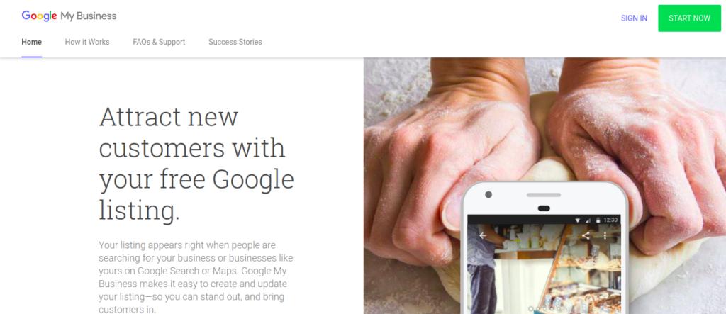 WordPress on Google My Business