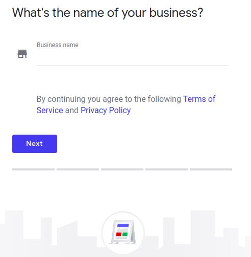 WordPress site on Google My Business