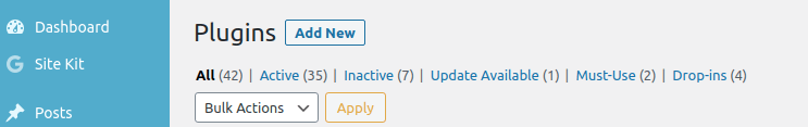 Add New Plugins to WordPress