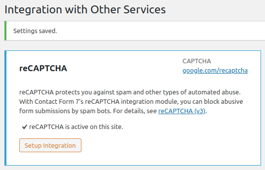 Adding captcha to Contact Form 7