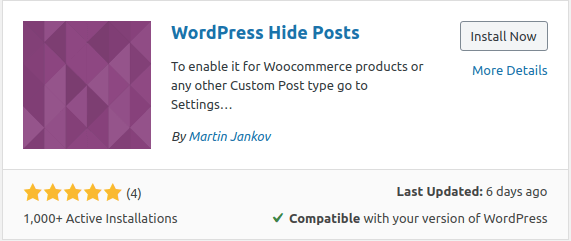 wp hide post