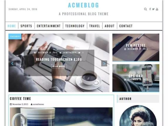 WordPress Blog Themes
