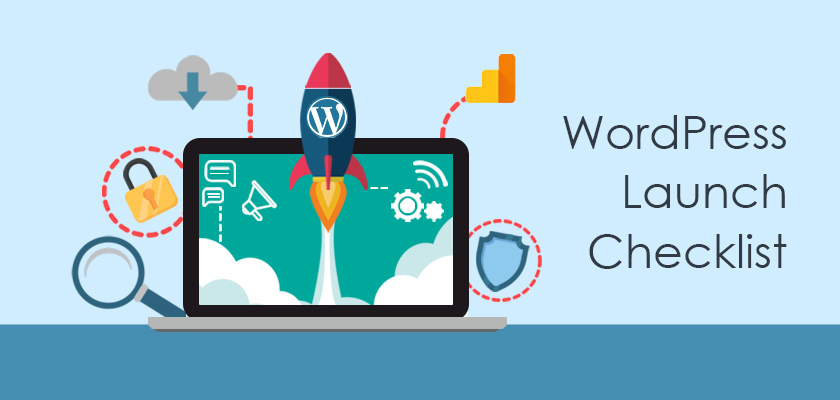 A Complete WordPress Website launch Checklist For Your Big Day