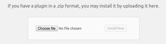 Uploading ZIP File