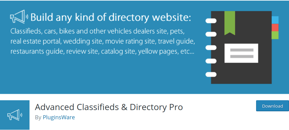 Advances Classifies & Directory pro