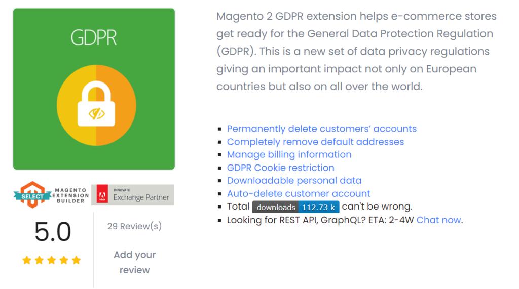 Mageplaza GDPR Magento 2 Extension